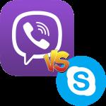 Что лучше Viber или Skype
