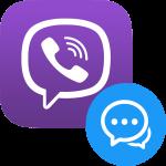 Как создать чат в Viber