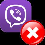 Ошибка регистрации в Viber