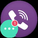 В Viber висит непрочитанное сообщение