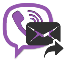Как переслать сообщение в Viber