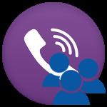 Групповые звонки и видеозвонки в Viber