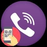 Как открыть QR-сканер в Viber