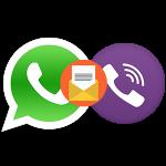 Как переслать сообщение из WhatsApp в Viber