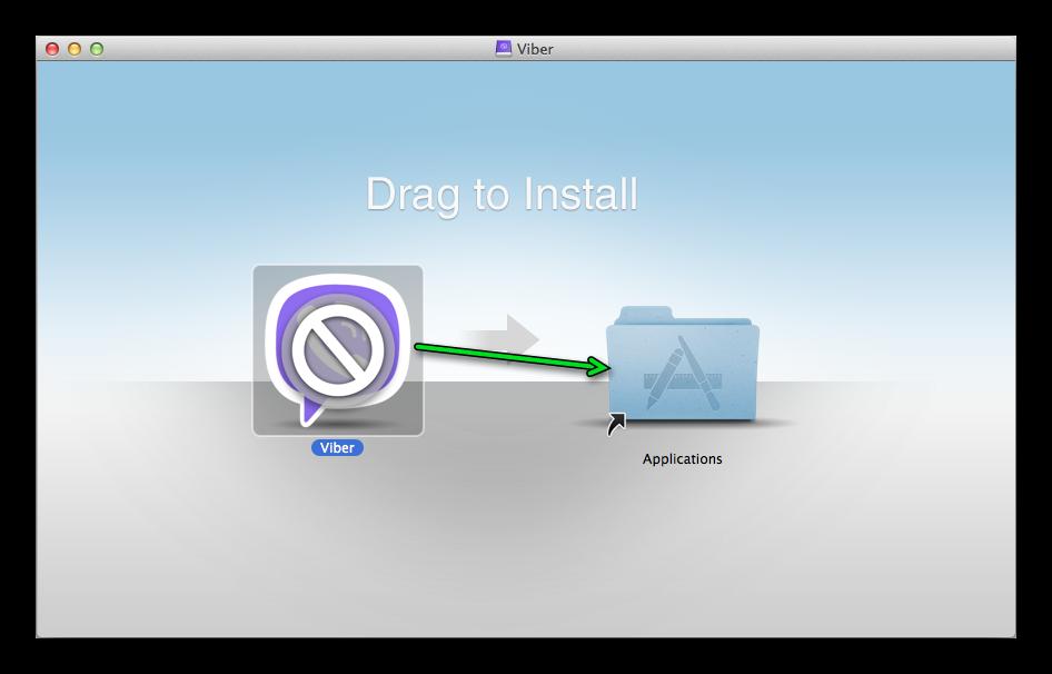 Процедура установки мессенджера Viber для Mac OS