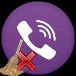 Как удалить звонки в Вайбере